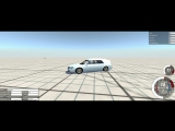 BeamNG.drive - дрифт на Cadillac DTS Hearse MTG
