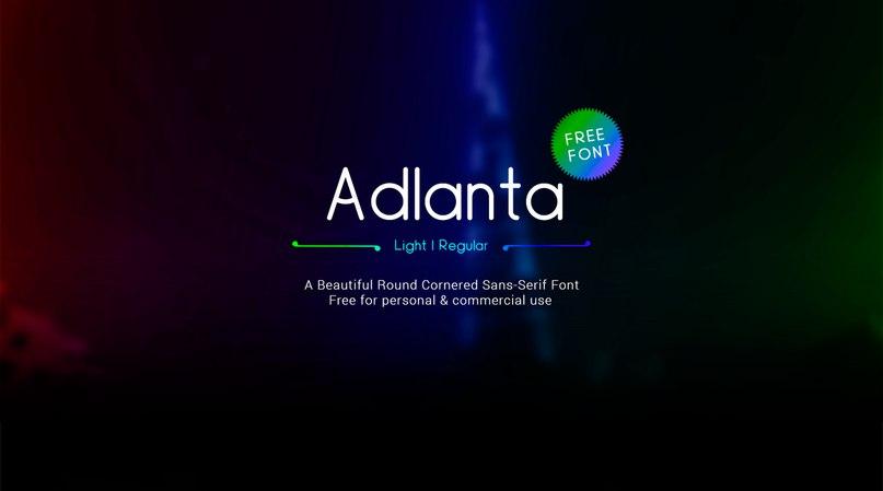 Download Adlanta font (typeface)