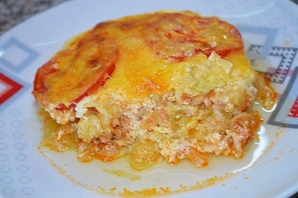 Блюда из кабачков картофеля и фарша в духовке рецепты