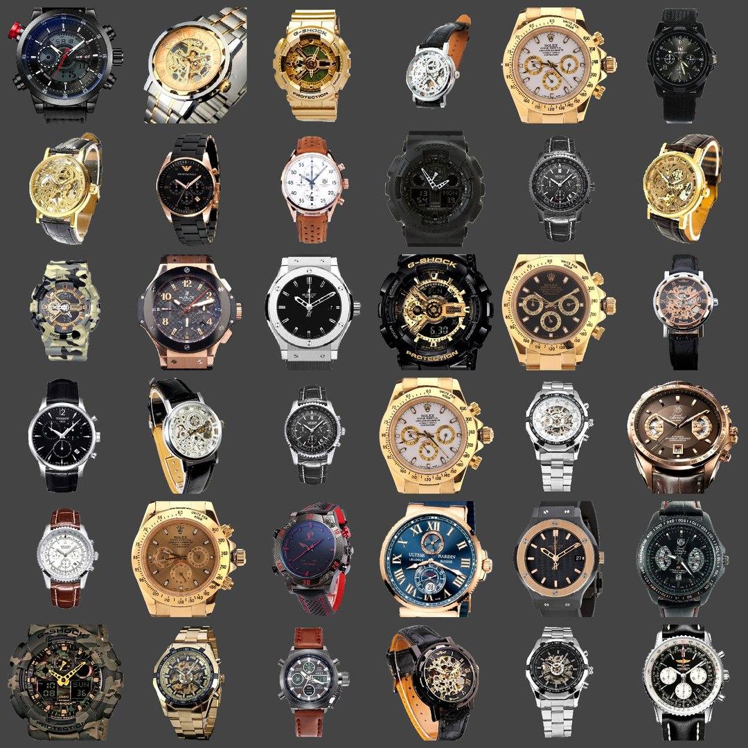 копии брендовых мужских наручных часов