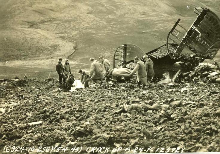 Фотография с места авиакатастрофы - Когда противник ни при чём | Warspot.ru