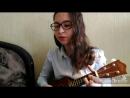 Coldplay - Yellow ukulele cover