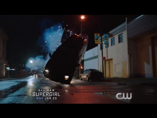 "Супердевушка / Супергерл / Supergirl - 2 сезон 9 серия Промо ""Supergirl Lives"" (HD)"