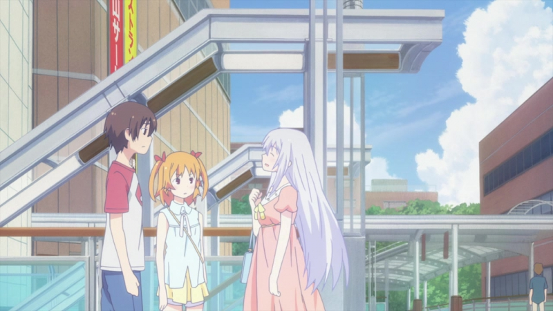 [AniDub] 10 серия - Меж двух огней - Девушки и подруги детства / Ore no Kanojo to Osananajimi ga Shuraba Sugiru