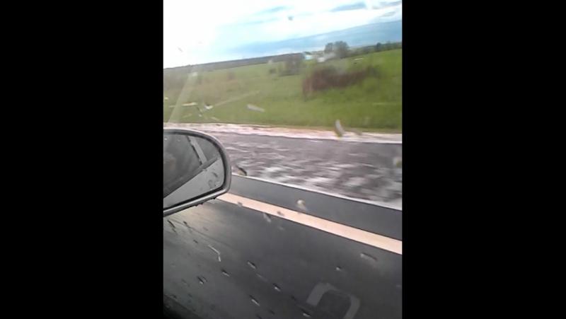 По дороге в деревню 26 мая