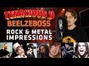 Tenacious D Beelzeboss ROCK METAL IMPRESSIONS COVER