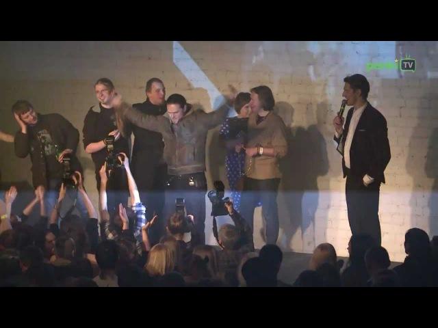 Epic dive from stage - (T.E.T.E alternatyvios muzikos apdovanojimai)