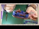 Tutorial muñeca waldorf 11-14 Zapatos / Waldorf doll tutorial 11-14 Shoes