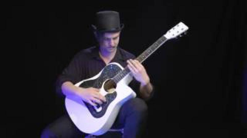 Игра на гитаре!! Супер Вот как надо играть на гитаре! Парень нереально круто играет на гитаре!