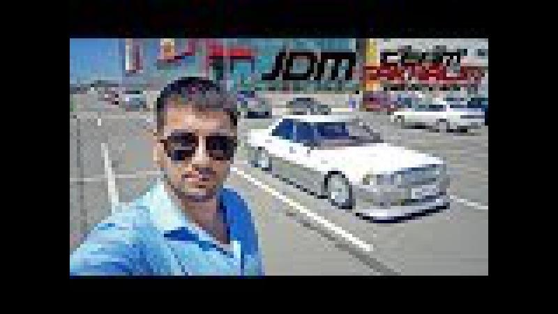 JDM Team 65 - Обзор Toyota Crown UZS 131/Максималка на Алькантаре.