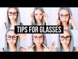 Right Glasses for Your Face Shape &amp Makeup Hacks &amp Tips For Glasses