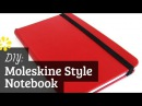 DIY Moleskine Style Notebook | Case Bookbinding Tutorial | Sea Lemon
