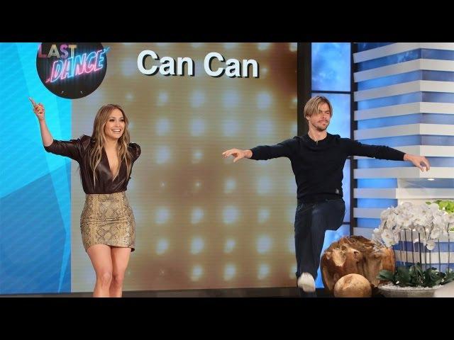 Last Dance with Jennifer Lopez and Derek Hough
