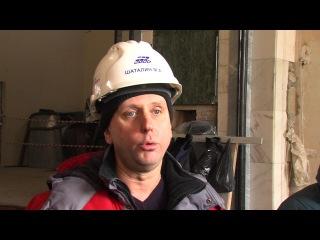 Реставраторы укрепляют фундамент Александро Невского храма в Челябинске