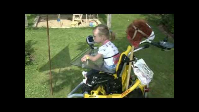 Skippi dziecięcy wózek elektryczny firmy Otto Bock film nr 2