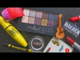 обзор палетки THE ROCK NUDES + новинки от maybelline New York // ❤️makeup by VASILISA