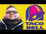 EATING TACO BELL OFF OF MY YOUTUBE SILVER PLAY BUTTON