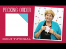 Make a Pecking Order Quilt with Jenny Doan of Missouri Star Video Tutorial
