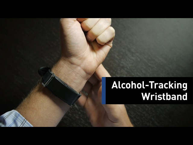 Measure Your Alcohol Level By Wearing This Wristband