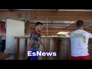 Vasyl Lomachenko On Who is More Popular In Ukraine Mayweather or McGregor EsNews Boxing