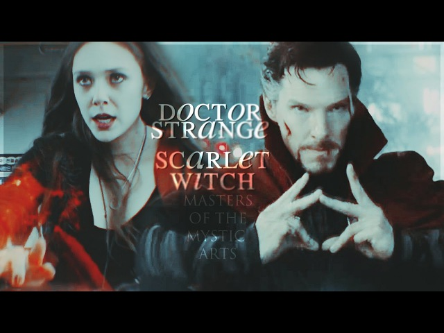 Doctor strange scarlet witch | masters of the mystic arts