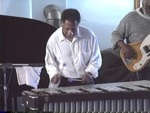 Khan Jamal Jazz Vibraphonist Perforrming at Cheyney University April 15 1992