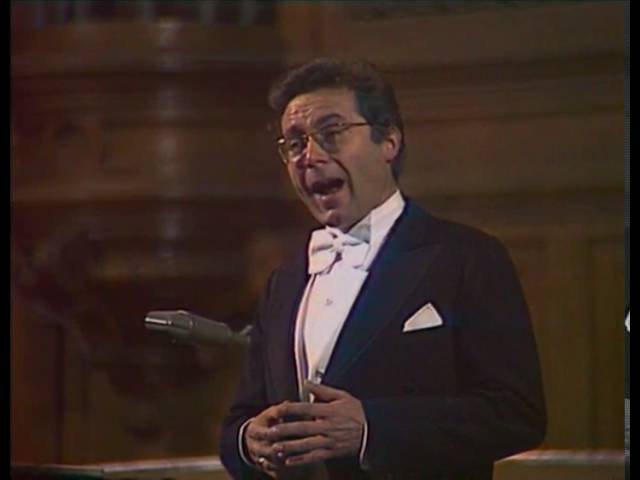 Peter Schreier sings Mozart lieder - video 1979