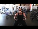 Тренируем грудные мышцы с Виктором Мартинесем
