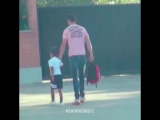 Криштиану Роналду и его сын — лучшие друзья