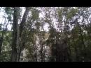 Московский дворик с огороженной площадкой для выгула собак