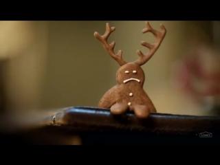 Lowe's посвятили рождественский ролик забавному имбирному прянику