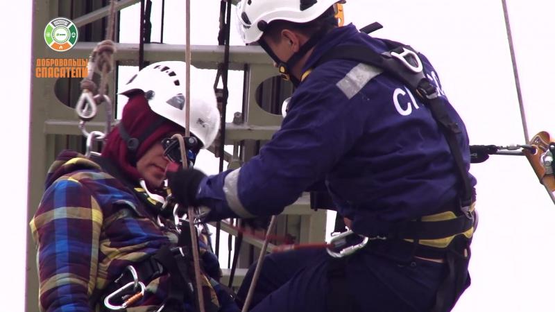 Показательное выступление СПАСС совместно с добровольцами-спасателями