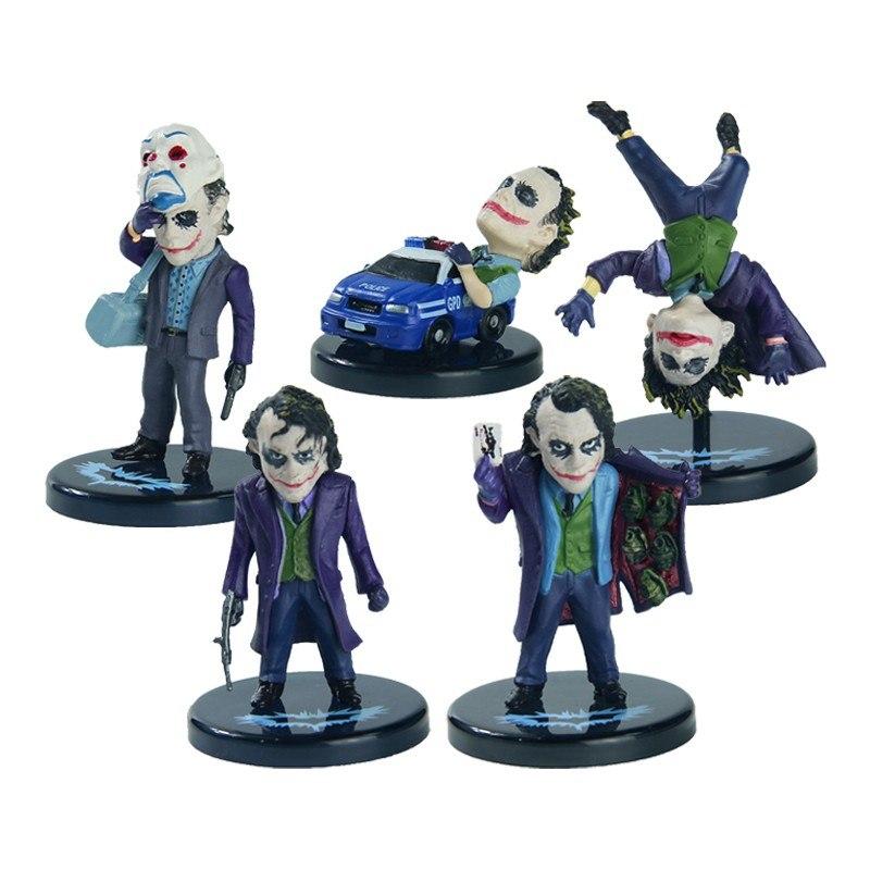 Набор из 5-ти фигурок The Joker