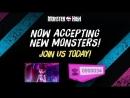В Настоящее Время Принимают Новых Монстров Присоединяйтесь к Нам Сегодня