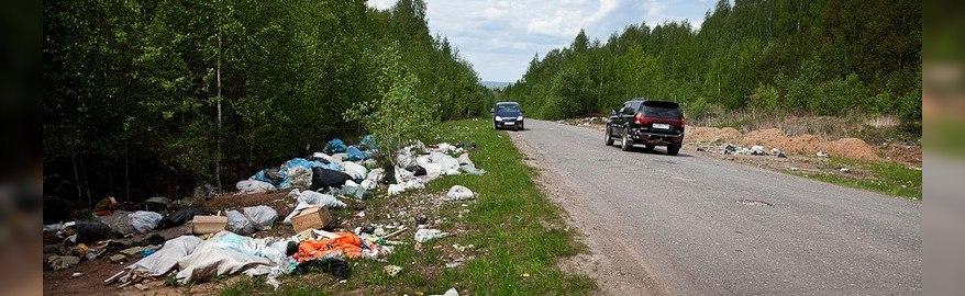 Камеры на дорогах будут штрафовать за выброс мусора