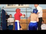 Бондаренко Никита - Киселёв Илья раздел кик-лайт до 36 кг.