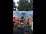 Наша весёлая команда на День города ОЭК