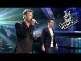 Charly Luske en Chris Hordijk - Viva La Vida (Liveshow 6  The voice of Holland 2011)