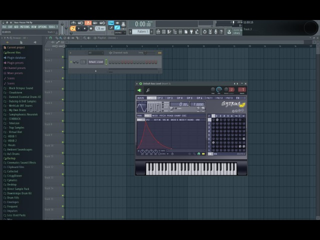 How To Make A Bass House FM Wub In Sytrus [Free Preset DL]