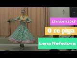 Lena Nefedova, Kathak, O re piya - Essentuki, 12/03/2017