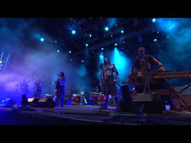 Corvus Corax Twilight of the Thunder God (Amon Amarth Cover) live at Wacken