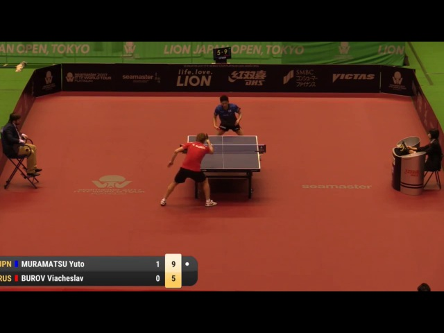 2017 Japan Open | Highlights Yuto Muramatsu vs Viacheslav Burov (Pre)