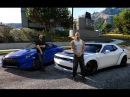 GTA V | VIN DIESEL VS PAUL WALKER | DRAG RACE ✪ FAST 8