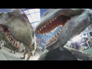 360 video: Jurassic attack - get mauled by lifelike dinosaurs