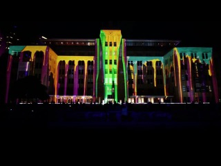 The Matter of Painting - Projection mapping installation at Vivid Sydney 2016
