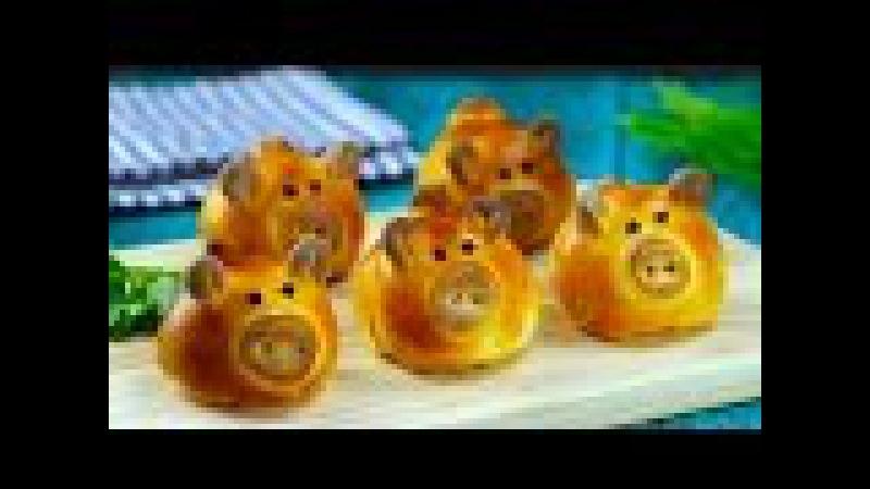 Zeit für Schweinereien süße kleine Überraschungs Ferkel mit Füllung