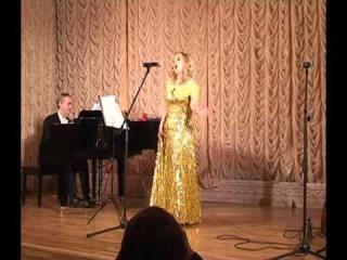 Алина Цветкова исполняет Por una cabeza. Carlos Gardel. Лучшее танго