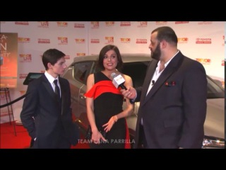 Lana Parrilla and Jared Gilmore at Trevor LIVE 2016