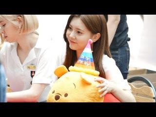 170528 인형 선물받은 은채 (EUNCHAE) @ 부산 서면 다이아 (DIA) 팬싸인회 4K 직캠 Fancam