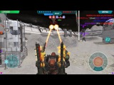 War Robots Clan Battles on the Moon - Friends Squad Vs Clan A